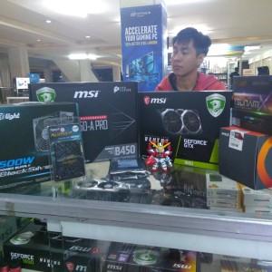 Paket PC Gaming Rendering MSI B450A Pro ryzen 7 2700x