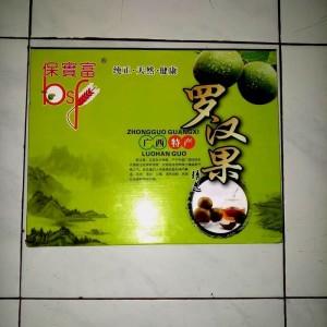 buah lo han kuo asli isi 20 buah .zhongguo lo han guo