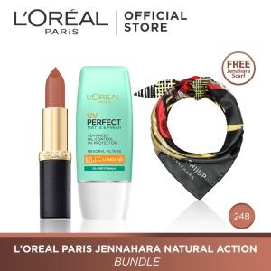 L'Oreal Paris Jennahara Natural Action Bundle