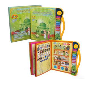 Mainan Edukasi Anak Buku Pintar Elektronik E-Book 3 Bahasa (JJ02)