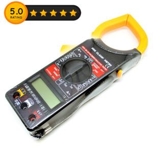 Digital Clamp Multimeter / Tang Ampere - DT266 - Black