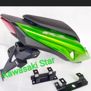 upgrade cover Body belakang ninja rr new old to New kawasaki