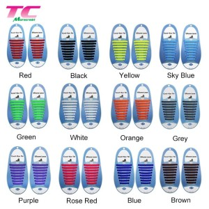 Tali Sepatu Silicone Coolnice No Tie Shoelaces