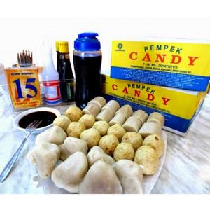 Candy Pempek Paket A Isi 25 Pcs