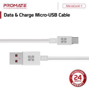 Promate Kabel Data Charger Micro USB - MicroCord-1 Mikro Charge Cable