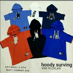 kaos hoodie anak polos