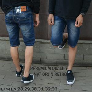 Celana jeans pendek pria import premium celana model terbaru kekinian