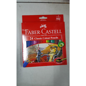 Pensil Warna Faber Castell 24 Warna ( Classic Color )