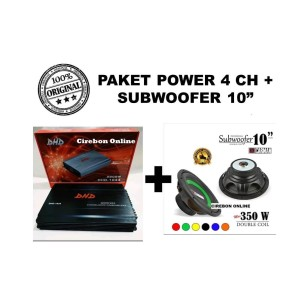 Power Mobil 4 Channel 10 000 Watt Embassy Ea 460 Tokopedia