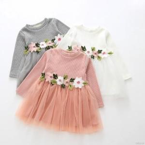 Dress pesta bayi / Gaun pesta bayi / Dress bayi / Dress bunga