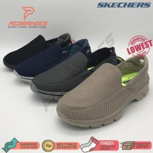 (GARANSI TERMURAH) Sepatu Casual Pria Skechers GOwalk 3 Men Original