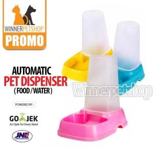 Pet Feeder Otomatis- Pet Dispenser - Dispenser Food Kucing Anjing