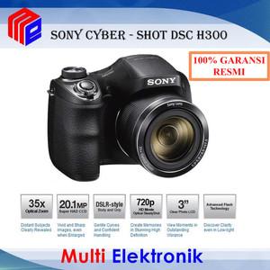 Sony DSC-H300 Digital Camera - 20MP - 35x Optical Zoom -
