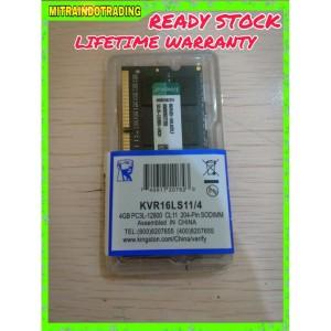 RAM KINGSTON SODIMM DDR3 4GB PC12800 BERGARANSI
