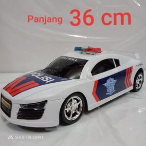 mobil remote polisi indonesia RC polisi police car lamborghini ferrari
