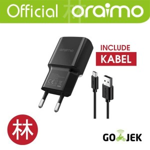 Oraimo 2A Europe Charger Kit CU-60AR+CD-52BR