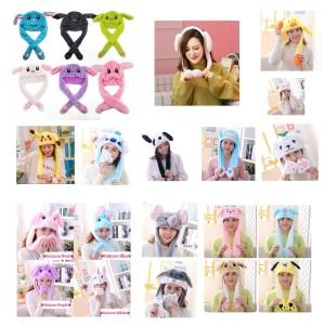 Dancing Rabbit Dance Bunny Hat Tik Tok Topi Kelinci Korean Korea Style