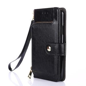 Xiaomi Redmi Case Kulit Leather + TPU Cover Flip Stand Minimalis