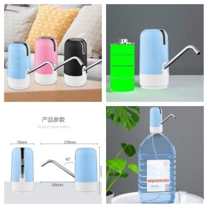 Pompa galon recharge / Pompa galon elektrik NON LED ( USB Charge ) X66