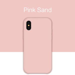 Iphone Silicon Case Luxury Case Plain Color Silicon Cover