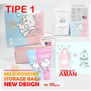 Milk Powder storage Bags Disposable plastik Kantung susu sunmum gabag