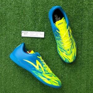 Specs Victory 19 IN (Sepatu Futsal) - Tulip Blue/Safety Yellow