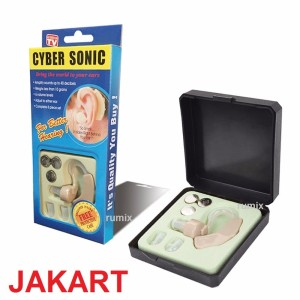 Alat Bantu Dengar Cyber Sonic BTE Hearing Aid Pendengar Kuping Telinga