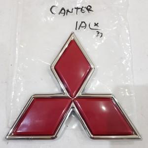 Emblem / Logo / Tulisan / Brand Mitsubishi Tiga Berlian PS Canter