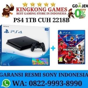 PS4 Slim Bonus Game PES Garansi Resmi Sony Indo