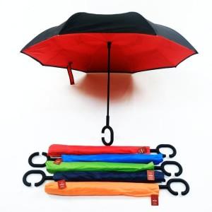 Payung Terbalik Reverse Kazbrella Gagang C 2ND Generatio ( SARUNG )