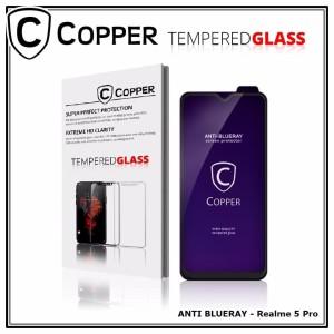 Realme 5 Pro - COPPER Tempered Glass ANTI-BLUERAY (Full Glue)