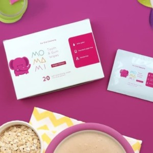 Momami Tooth & Gum Wipes