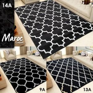 Karpet Monochrome Black Edition 2018 size M
