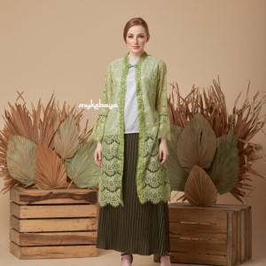 Outer brokat casual cantik cocok untuk acara formal/non formal