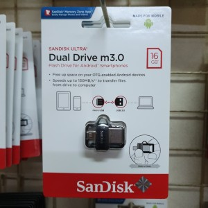 SANDISK FLASHDISK OTG type M3 16GB