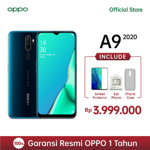 OPPO A9 2020 Smartphone 8GB/128GB Garansi Resmi OPPO Indonesia
