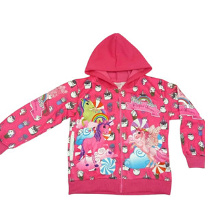 Jaket little Pony pink anak sweater new arrival hoodie anak J-063