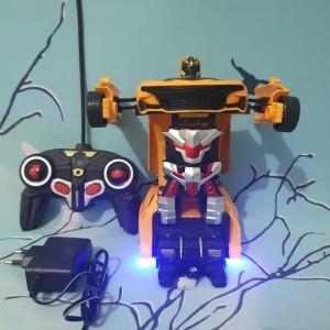 mobil remote transformers Rc transformers bumble bee mobil jadi robot