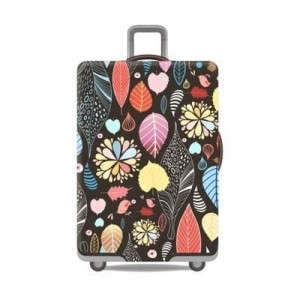 sarung koper / Luggage cover elastis full print edition