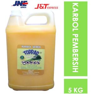 Karbol Sereh / Pembersih Lantai Anti Bau / Wangi Serai Lemongrass 5L