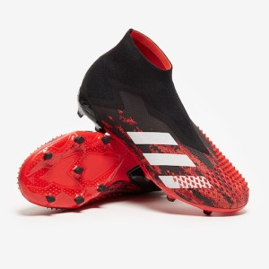 NEW Sepatu Bola adidas Kids Predator Mutator 20+ FG - Core Black/White