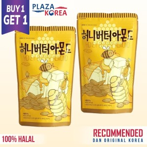 BUY 1 GET 1 HONEY BUTTER ALMOND 210GRAM KOREA RESMI BPOM