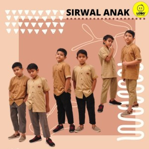 Celana Sirwal Anak / Lobo Original / Sirwal Anak Size L XL 9-12 Tahun