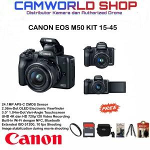 Canon eos M50 kit 15-45mm