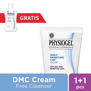 Physiogel Daily Moisture Care Cream 75ml GRATIS Cleanser 60ml
