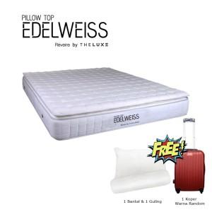 Reveire Mattress Edelweiss Pillow Top 180x200 Khusus JABODETABEK