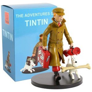 FIGURE THE ADVENTURE OF TIN TIN - BOX BIRU