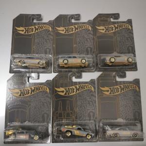 Hot Wheels Anniversary Satin Gold Series Datsun 510 Wagon hotwheels