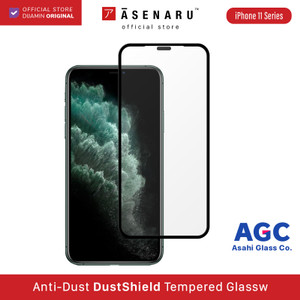 Asenaru DustShield Anti Dust Tempered Glass iPhone 11/ Pro / Pro Max