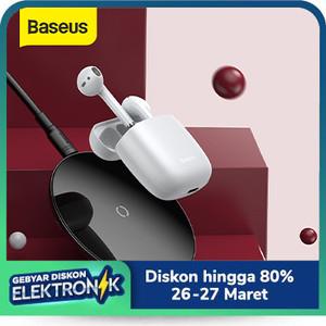 BASEUS TRUE WIRELESS BLUETOOTH EARPHONE MINI EARBUDS TWS W04 PRO V5.0